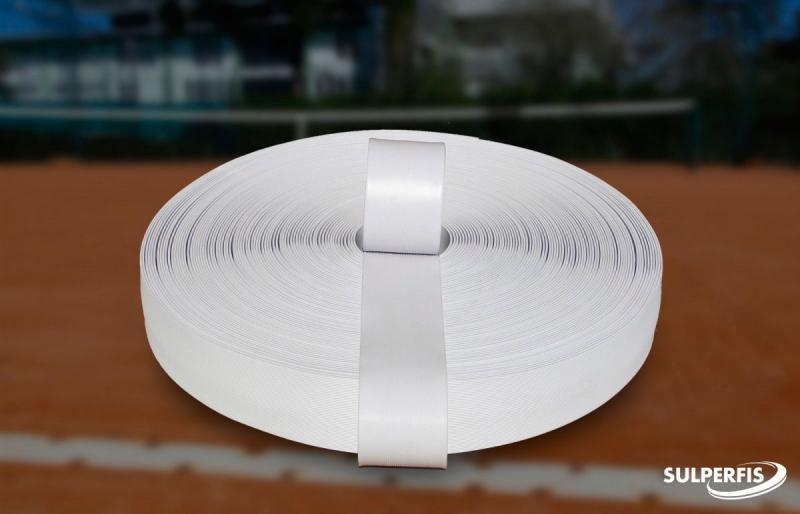 Fita adesiva para demarcação de quadra